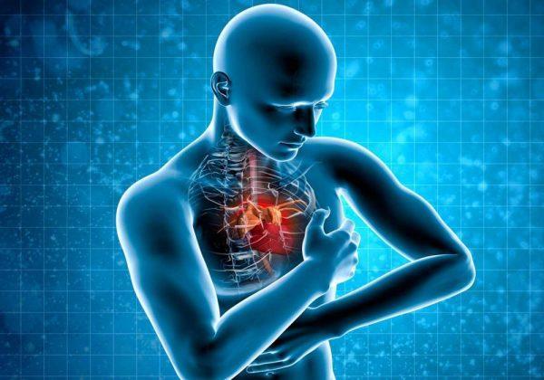 Заболевания сердца - одна из причин боли