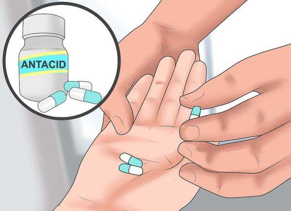 Можете принимать препараты-антациды