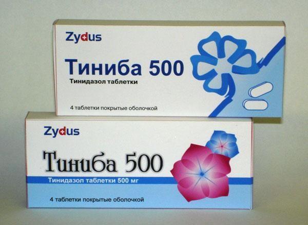 Препарат Тиниба