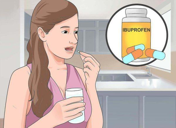 Примите обезболивающие препараты