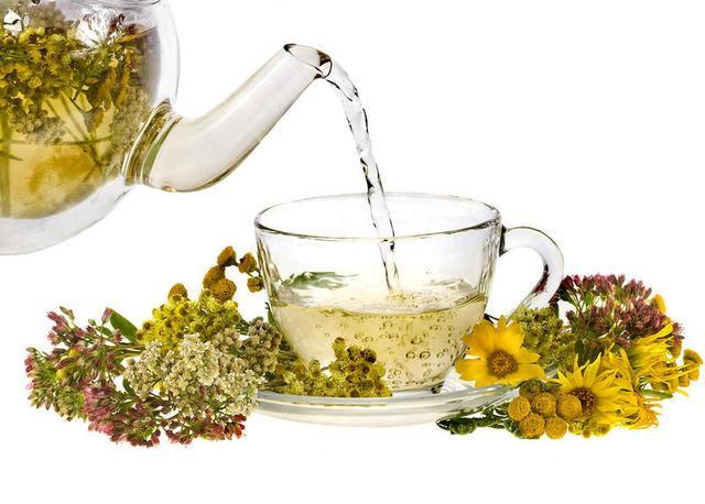 Травяные чаи помогают быстро встать на ноги