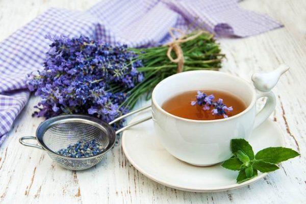 Лавандовый чай – один из способов вылечиться от гастрита