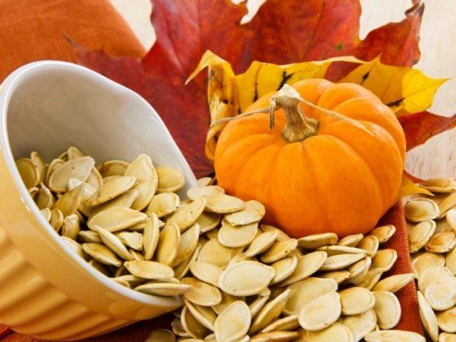 Рецепты с тыквенными семенами