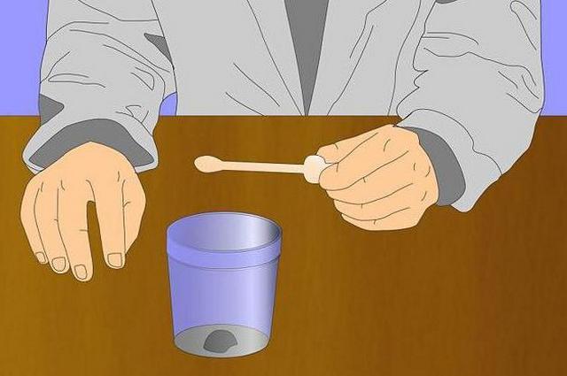 Для постановки диагноза проводится анализ кала