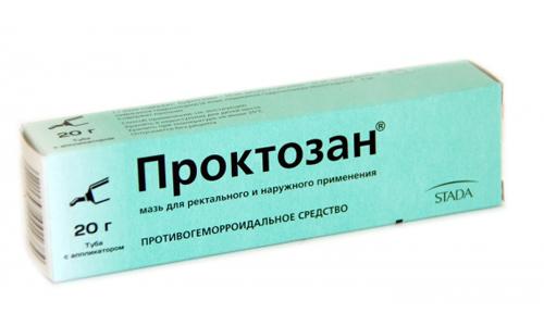 В составе Проктозана присутствует лидокаин