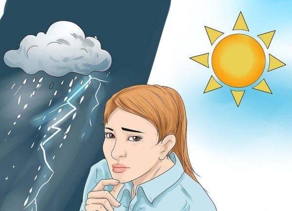 Следите за изменением погодных условий