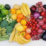 Свежие овощи, фрукты, ягоды