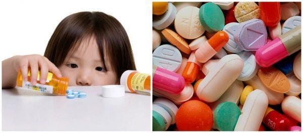 Интоксикация медикаментами представляет особую опасность