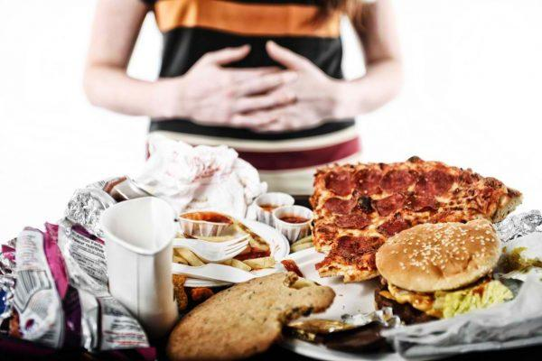 Остерегайтесь переедания