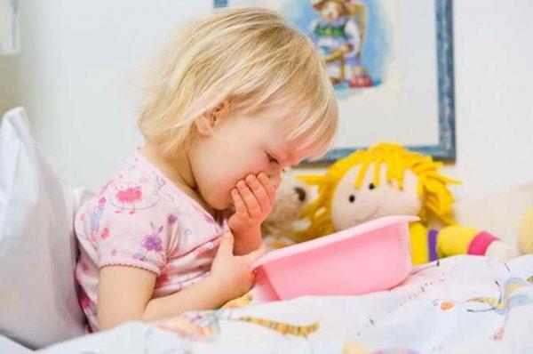Тошнота у детей не всегда является признаком серьезного заболевания