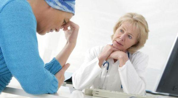 Химиотерапия может вызвать тошноту