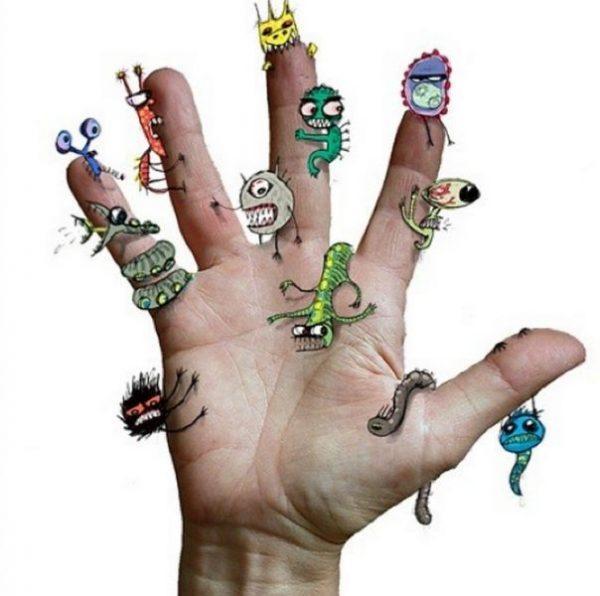 Все болезни от немытых рук