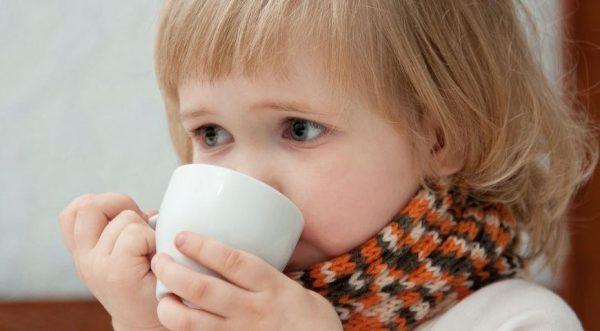 Больной ребенок должен больше пить