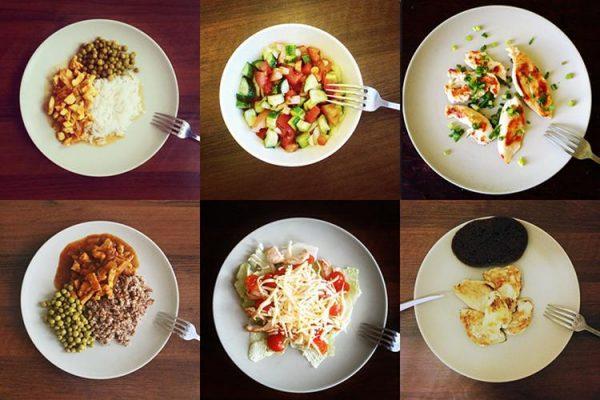 Дробное питание небольшими порциями