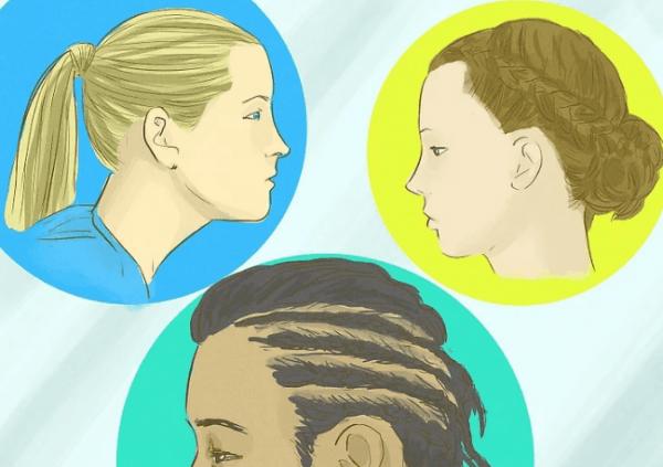 Если ежедневно заплетать плотные косы или завязывать тугой хвост, можно лишиться большого количества волос