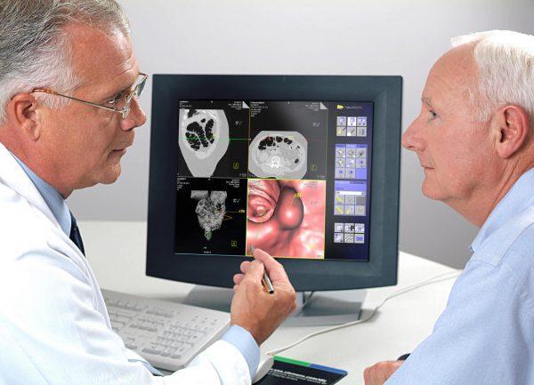 Исследование помогает узнать место и степень образования патологии