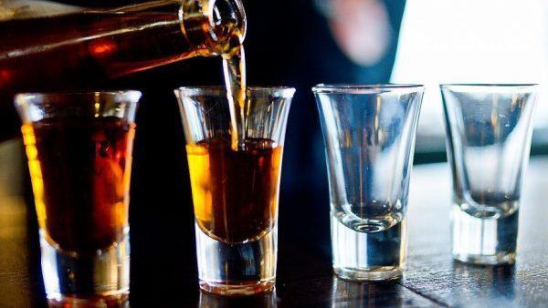 Любое количество алкоголя