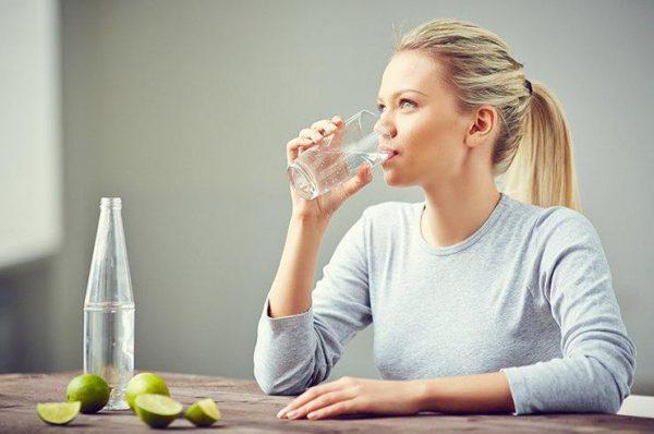 Не забывайте пить воду