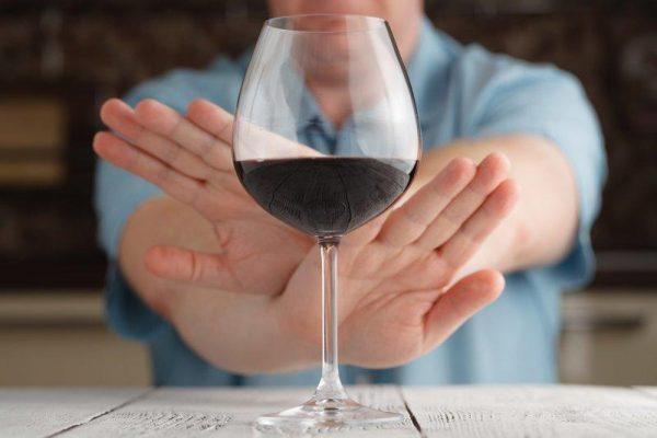 Отказ от алкоголя обязателен