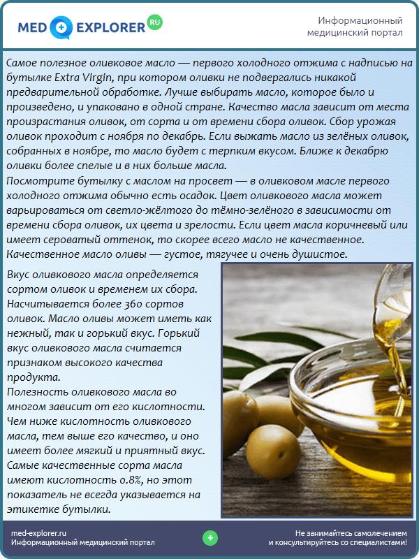 Оливковое масло: как выбрать?
