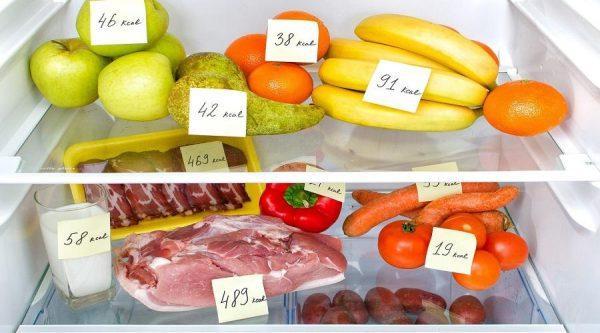 Стоит помнить о калорийности продуктов