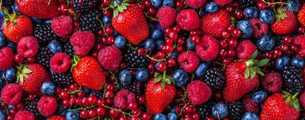 Свежие ягоды - источник витаминов