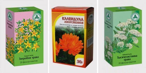 Травяные чаи тоже станут хорошим дополнением к основной терапии