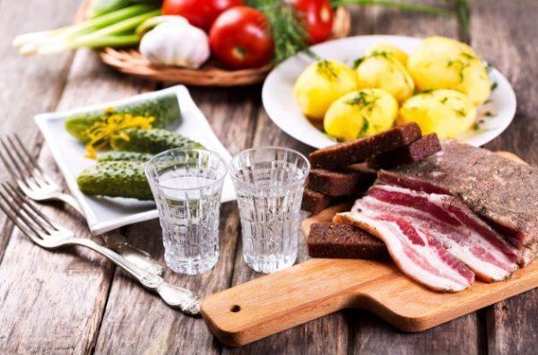 Воздержитесь от вредной пищи