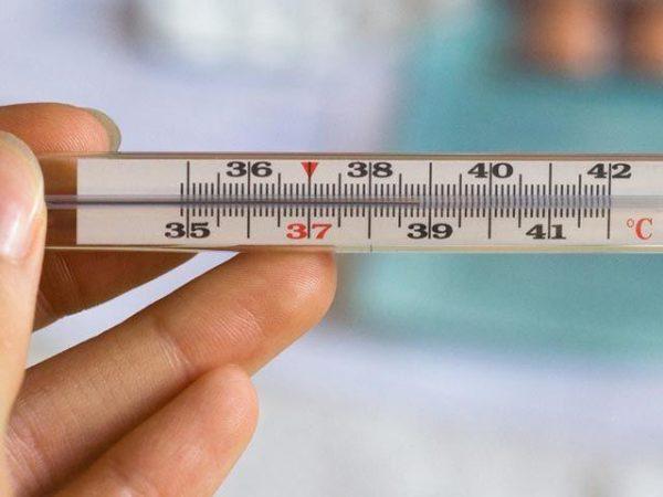 Высокая температура, жар