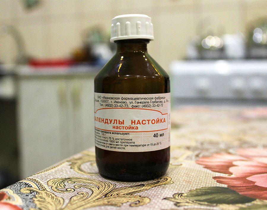 Антисептическое средство подсушивает высыпания и способствует улучшению состояния кожи