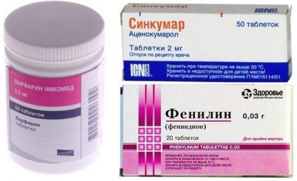 Противосвертывающие препараты