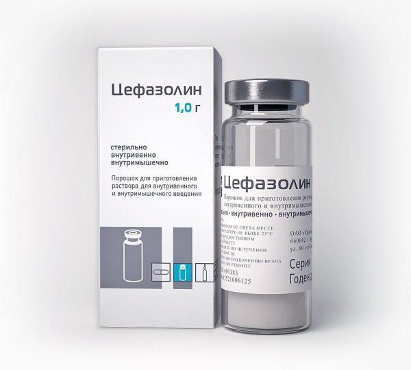 Цефазолин от фурункулов