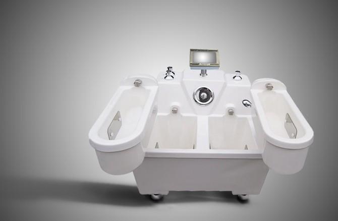 Конструкция радоновых ванн