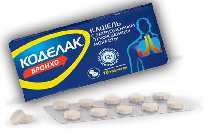Препарат Коделак