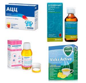 Препараты, уменьшающие выраженность воспалительных явлений