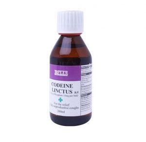 Уменьшающие кашель медикаменты на основе кодеина