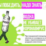 Влияние алкоголя на коронавирус