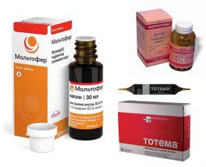 Ферросодержащие лекарственные средства