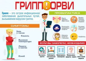 Симптомы и профилактика гриппа и ОРВИ
