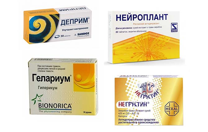 Препараты на основе зверобоя