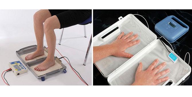 Физиотерапевтическое лечение гипергидроза