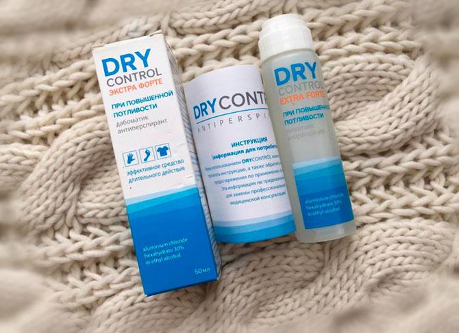 DRY Control – антиперспирант, который эффективно устраняет потливость